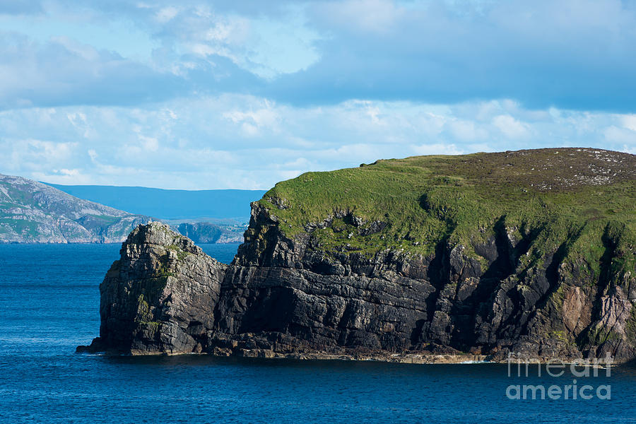 Rocks Photograph - Donegal Seascape by Andrew  Michael
