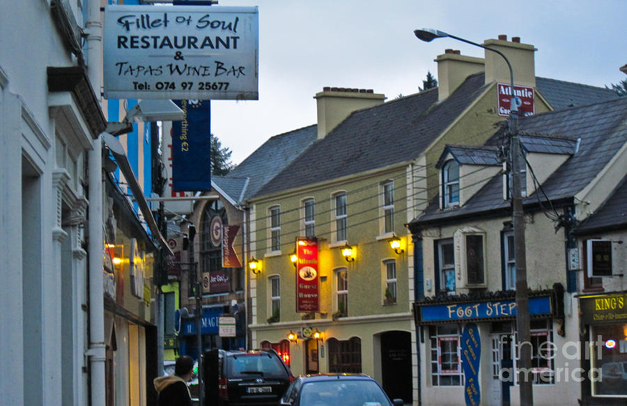 Ireland Photograph - Donegal Town by Black Sun Forge
