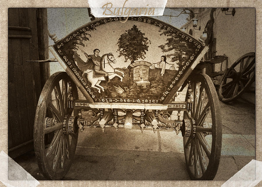 Donkey Cart Photograph - Donkey Cart by Cliff Norton