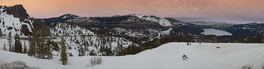 Donner Panoramic Photograph by Adam Blankenship