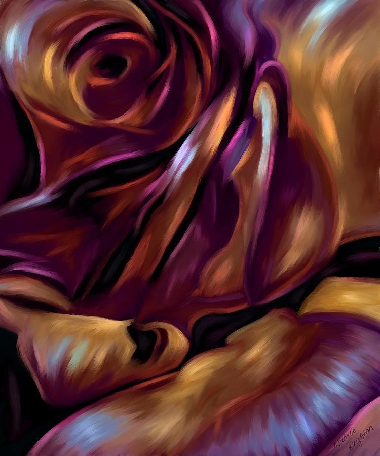 Rose Painting - Donnybrook Rose by Michelle Wrighton