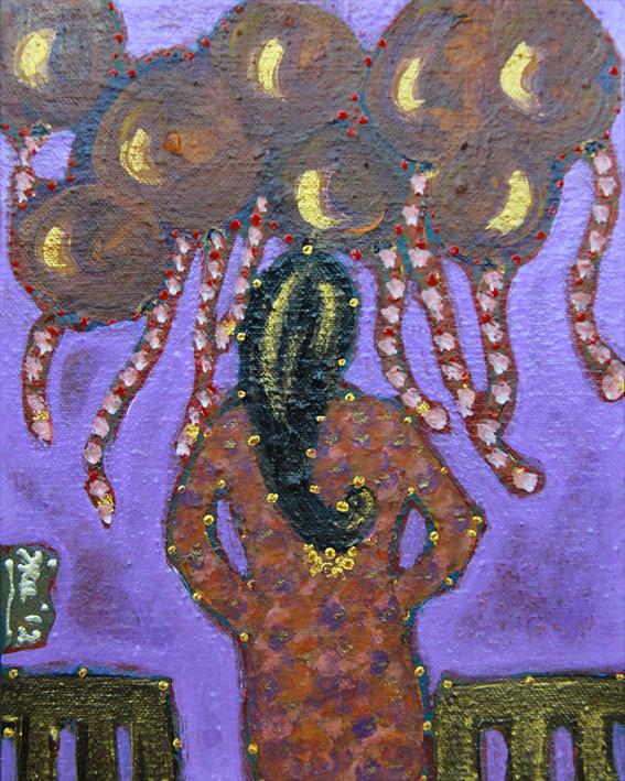 Dont Like Surprises Painting by Ira Samyra