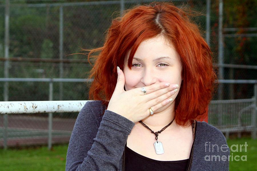 People Photograph - Dont Make Me Laugh by Susan Stevenson