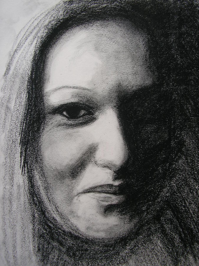 Drawing Drawing - Dont Smile by Candice PerryMoen