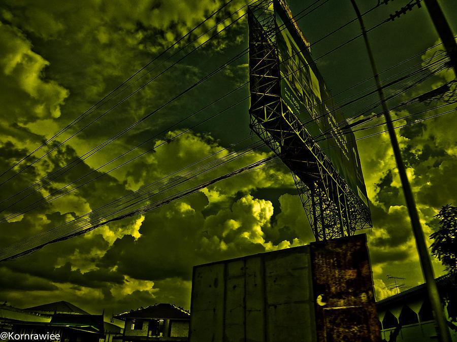 Sky Photograph - Doomsday by Kornrawiee Miu Miu