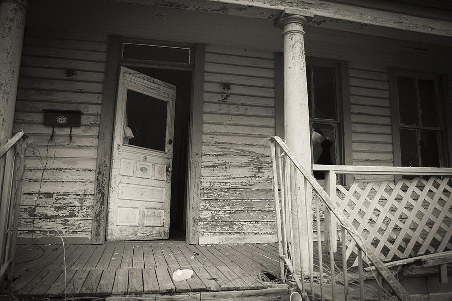 Door Photograph - Door Ajar by Barbara Northrup & Door Ajar Photograph by Barbara Northrup
