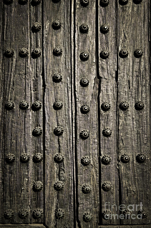 Door Photograph - Door Detail by Elena Elisseeva