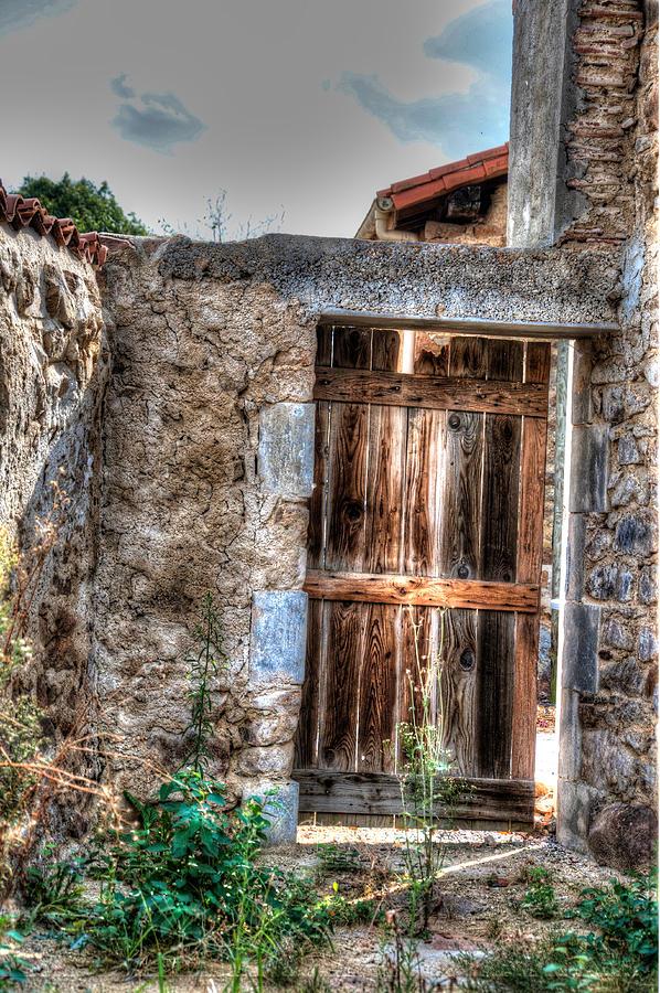 Door Photograph - Door by Elena Melnikova