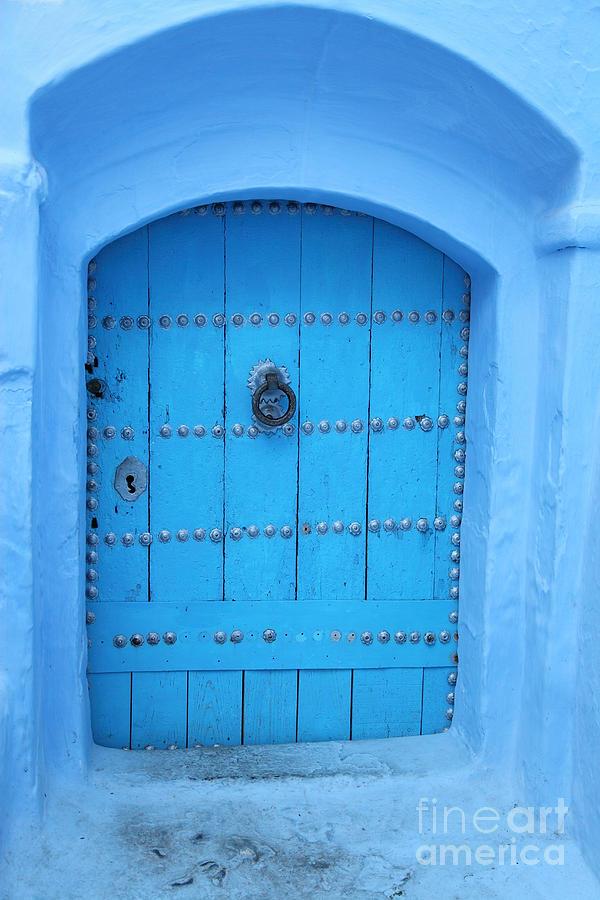 Morocco Photograph - Door by Milena Boeva