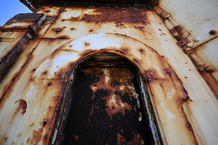Rust Photograph - Door Of Rust by David Lee Thompson
