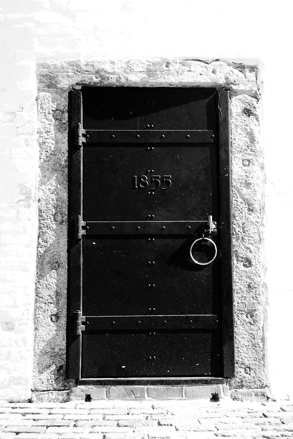 Cape Florida Lighthouse Photograph - Door To Cape Florida by David Lee Thompson