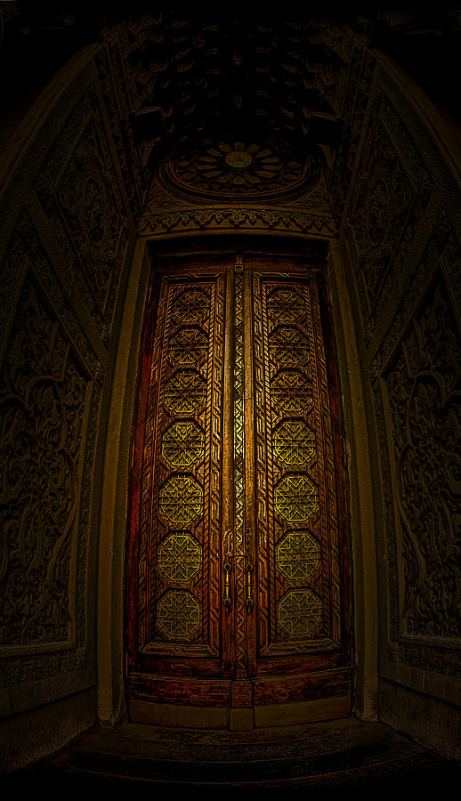 Door Photograph - Door To Stanislavski by Dmitriy Mirochnik