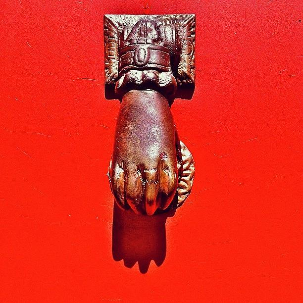 Door Knocker Photograph - Doorknocker by Julie Gebhardt