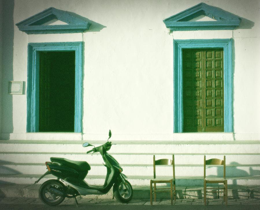 Door Photograph - Doors And Chairs by Joana Kruse