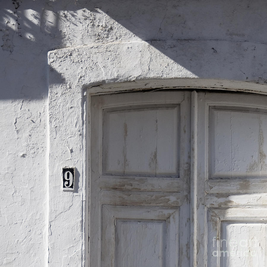 White Wall Photograph - Doors Number 9 by Agnieszka Kubica