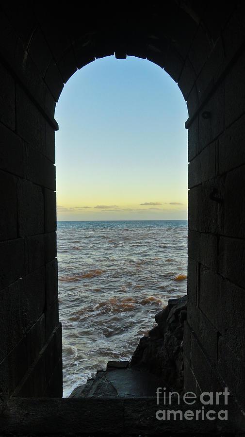Madeira Photograph - Doorway To The Sea by Nabucodonosor Perez