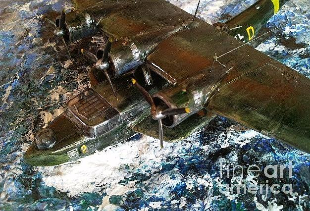 Ww2 Sculpture - Dornier Flying Boat by Rich Holden