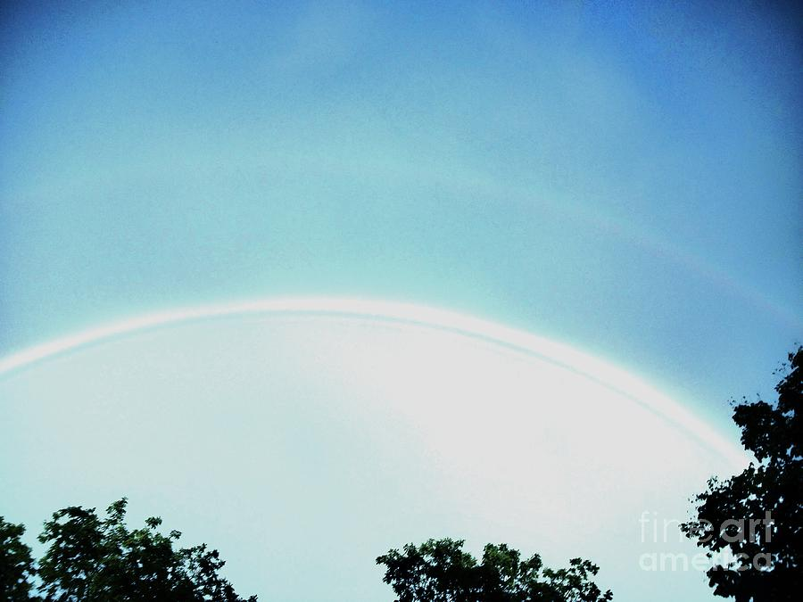Photo Photograph - Double Rainbow After The Storm by Marsha Heiken