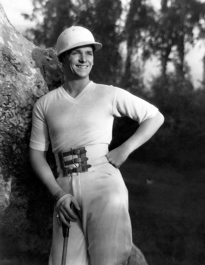 Belt Buckle Photograph - Douglas Fairbanks, Jr., 1930 by Everett