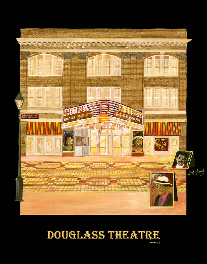 Douglass Theatre Painting - Douglass Theatre by Leah Holland
