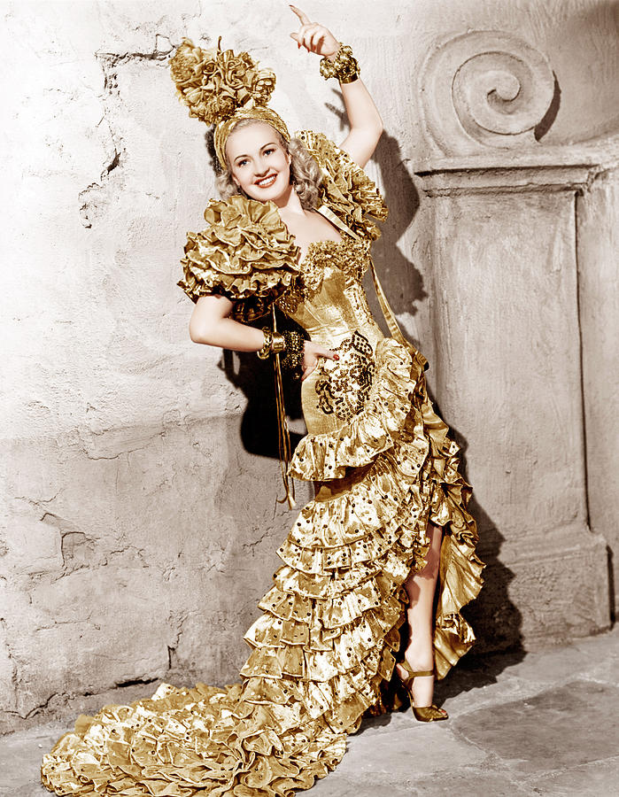 1940s Movies Photograph - Down Argentine Way, Betty Grable, 1940 by Everett