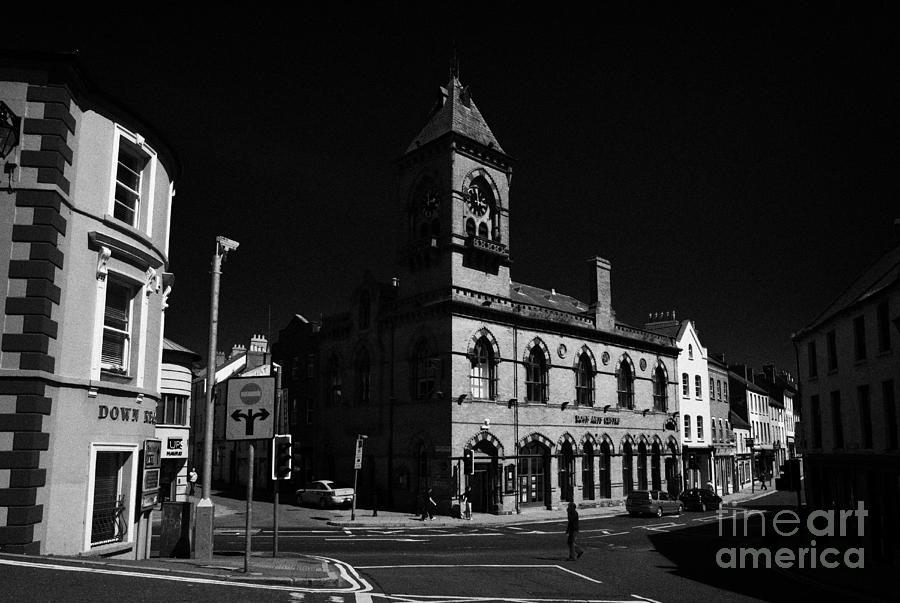 Down Photograph - Down Arts Centre Center Old Town Hall Downpatrick County Down Ireland by Joe Fox
