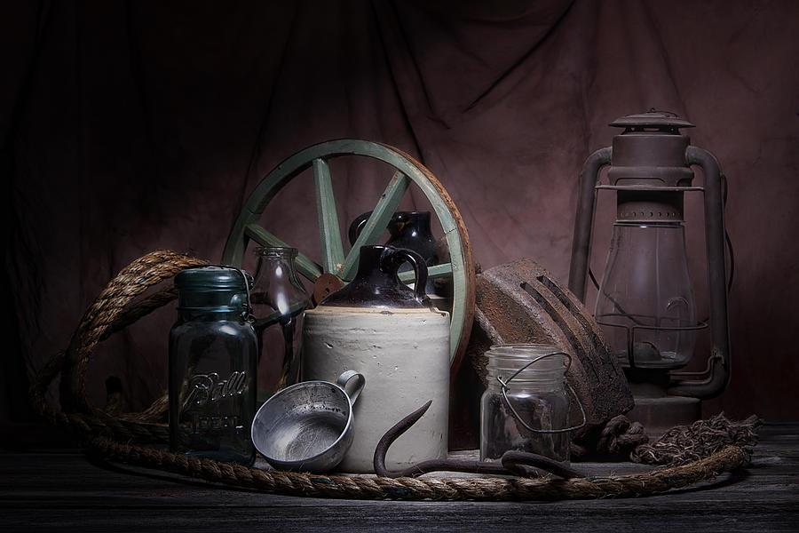 Americana Photograph - Down On The Farm Still Life by Tom Mc Nemar