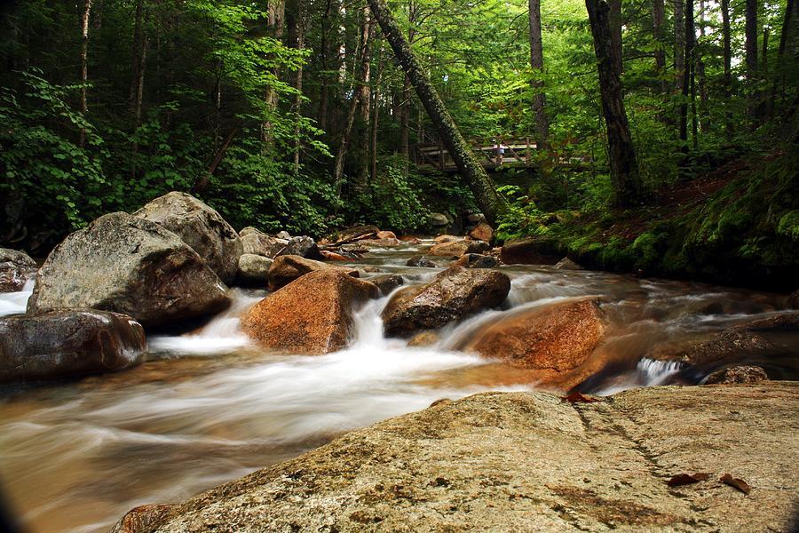 Water Photograph - Downstream At The Basin by David Gilman
