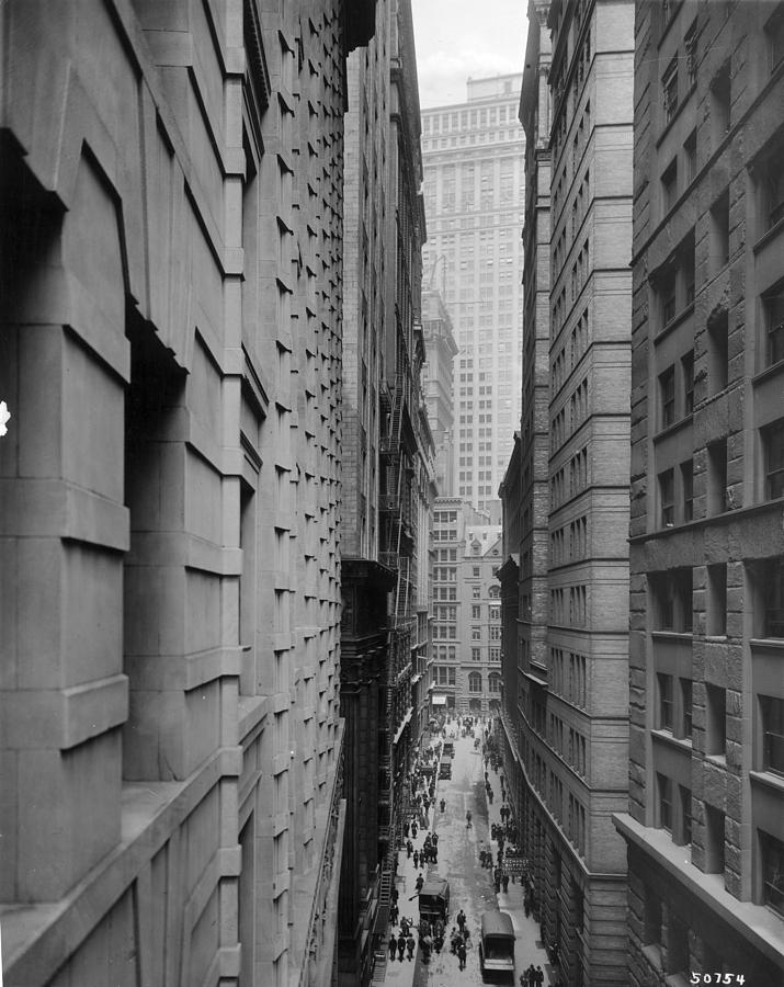 Vertical Photograph - Downtown Canyon by R Gates