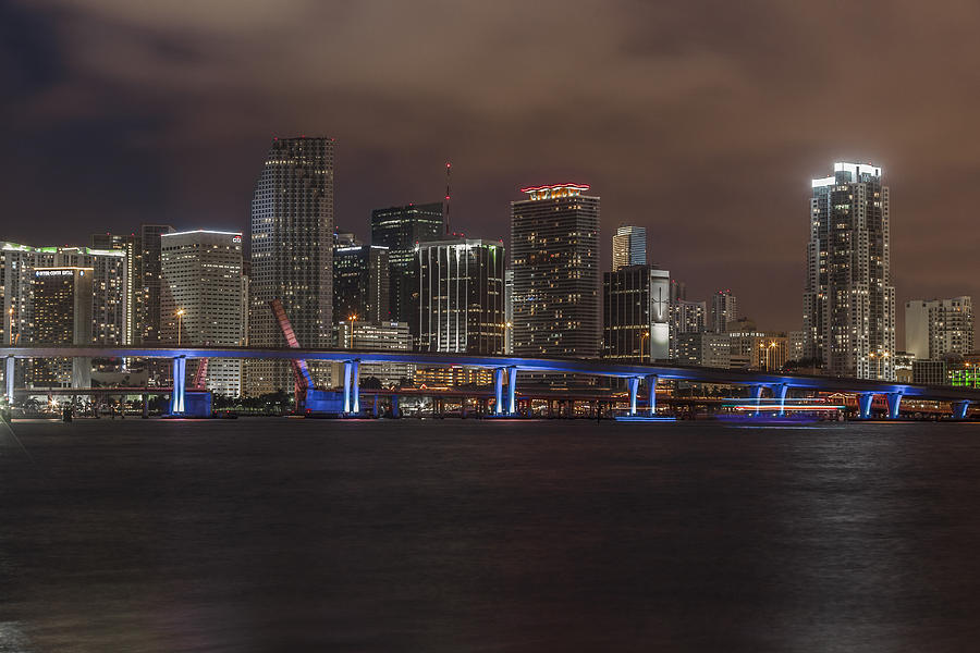 Downtown Photograph - Downtown Miami 2012 by Dan Vidal