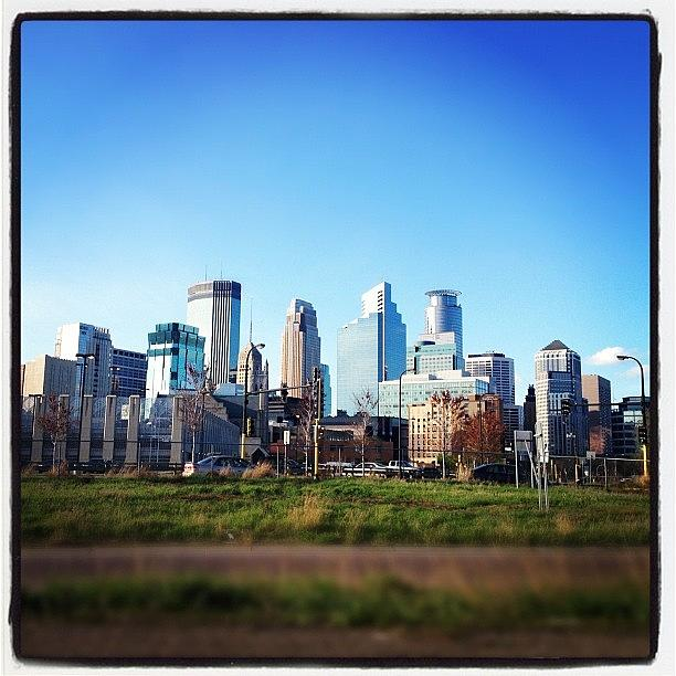Downtown Minneapolis Photograph by Alexandria Bertsch