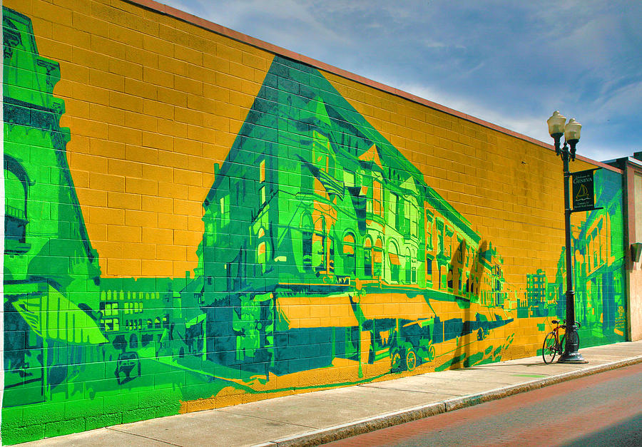 Art Photograph - Downtown Mural IIi by Steven Ainsworth