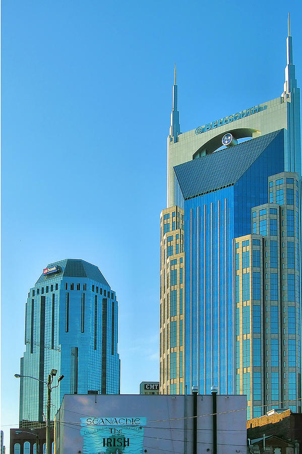 City Photograph - Downtown Nashville I by Steven Ainsworth