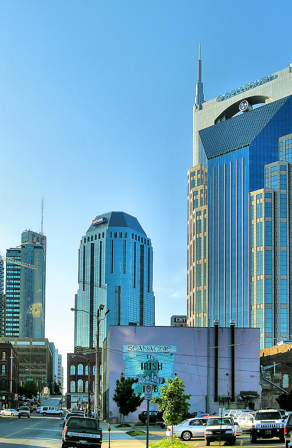 City Photograph - Downtown Nashville II by Steven Ainsworth