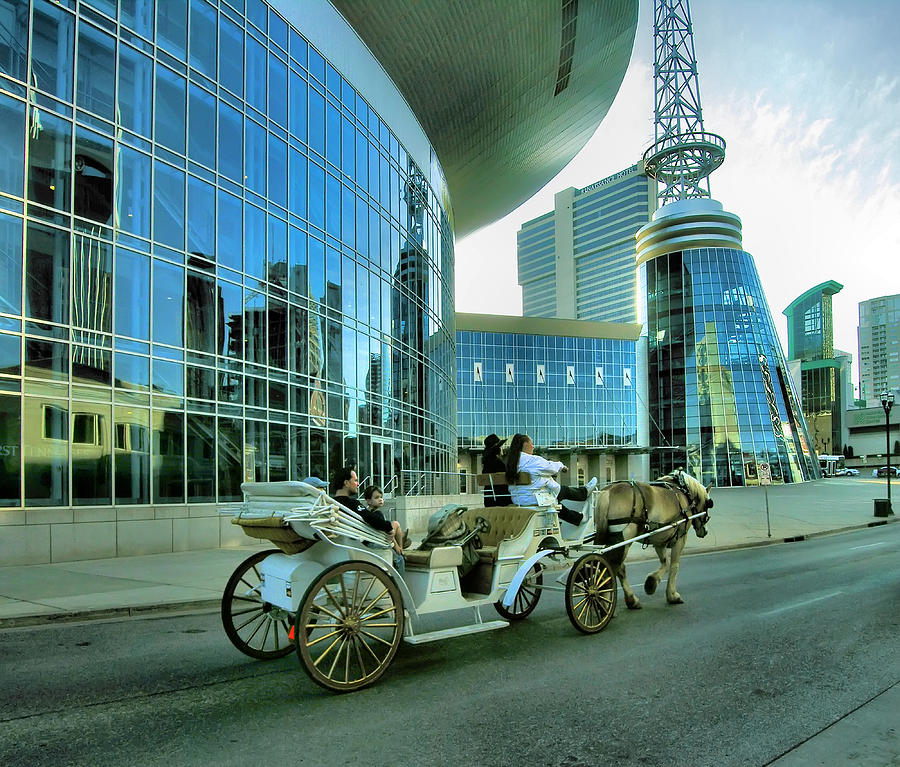 City Photograph - Downtown Nashville Iv by Steven Ainsworth