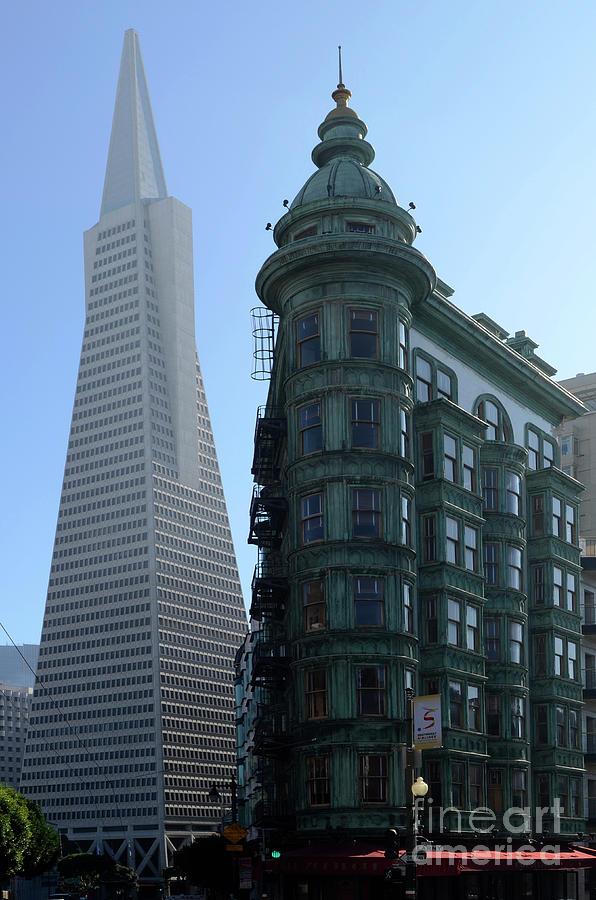 San Francisco Photograph - Downtown San Francisco 2 by Bob Christopher