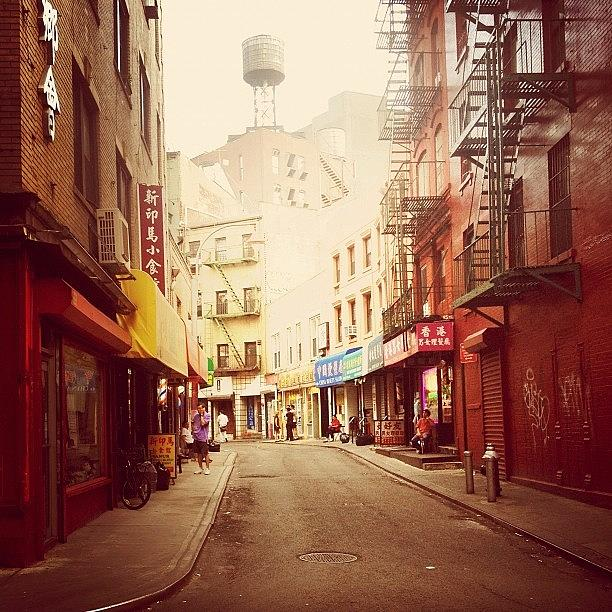 New York City Photograph - Doyers Street - New York City by Vivienne Gucwa