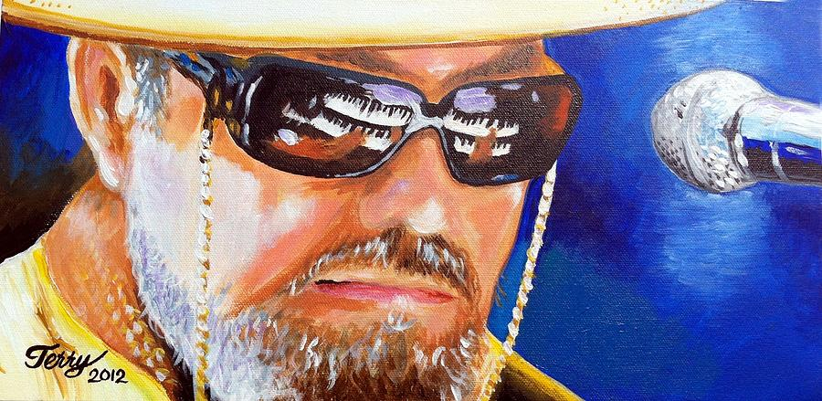 New Orleans Musicians Painting - Dr John by Terry J Marks Sr