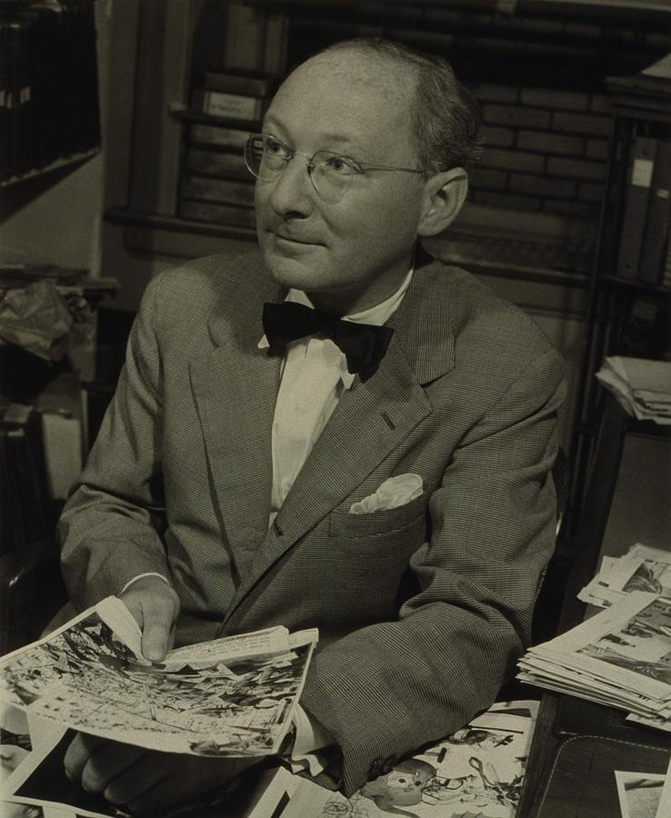 History Photograph - Dr. Otto Bettmann, A German Jewish by Everett