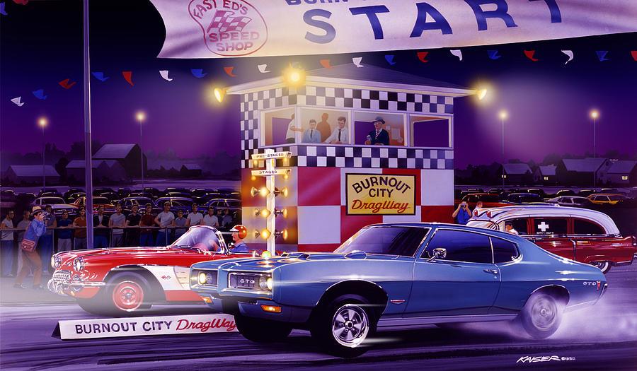 Drag City Photograph By Bruce Kaiser