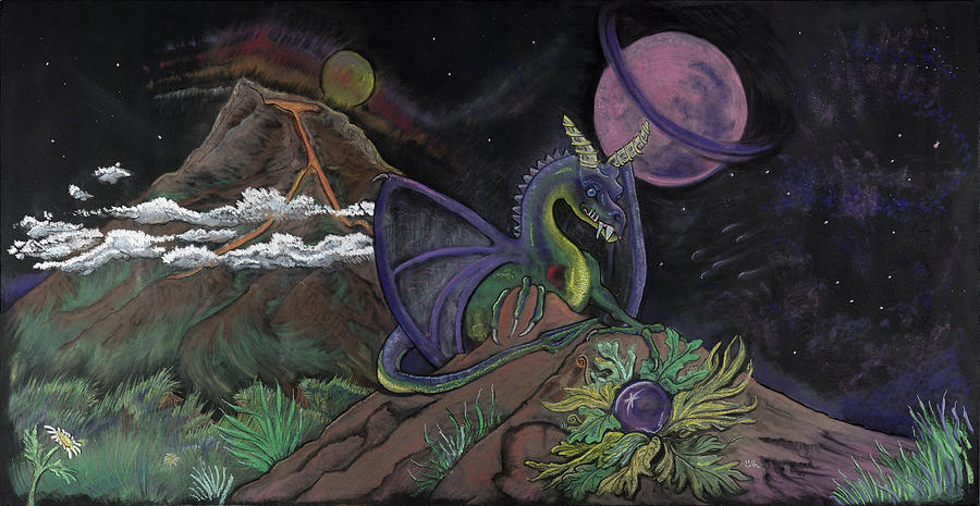 Dragon Pastel - Dragon Dreamz by Robin Hewitt