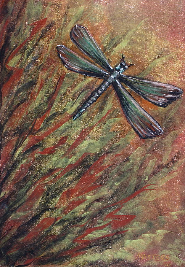 Dragonfly Painting - Dragon by Lisa Masters