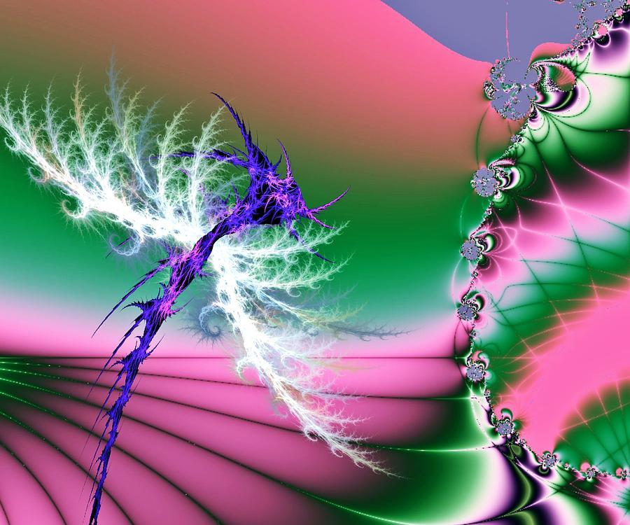 Dragonflies Digital Art - Dragonfly by Sharon Lisa Clarke