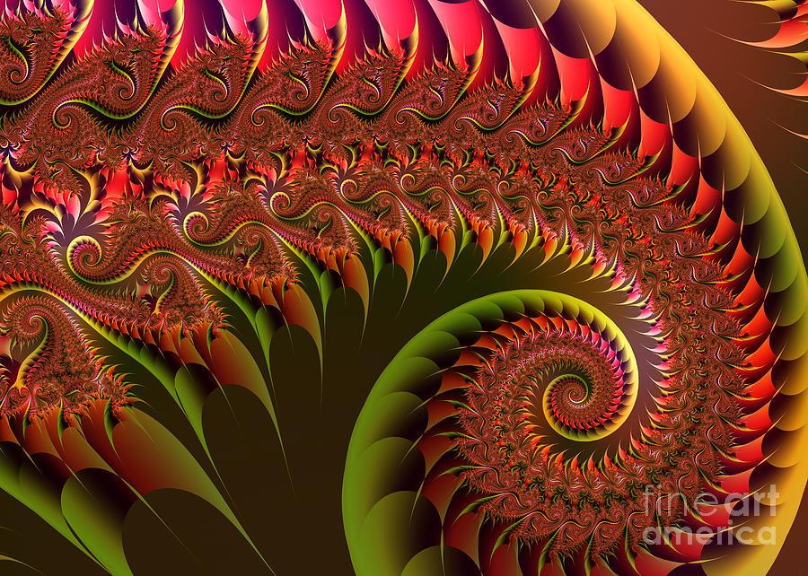 Dragon's Tail by Mariella Wassing
