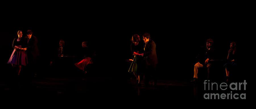 Life Drama Photograph - Drama Of Life by Venura Herath