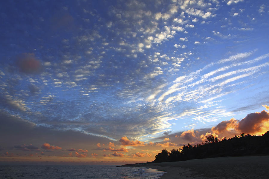 Black Photograph - Dramatic Hawaiian Sky by Vince Cavataio