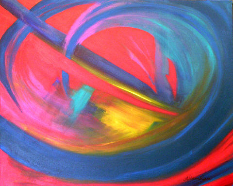 Changes Painting - Drastic Changes by Allison Reece