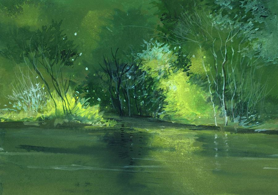Dream Painting - Dream 1 by Anil Nene