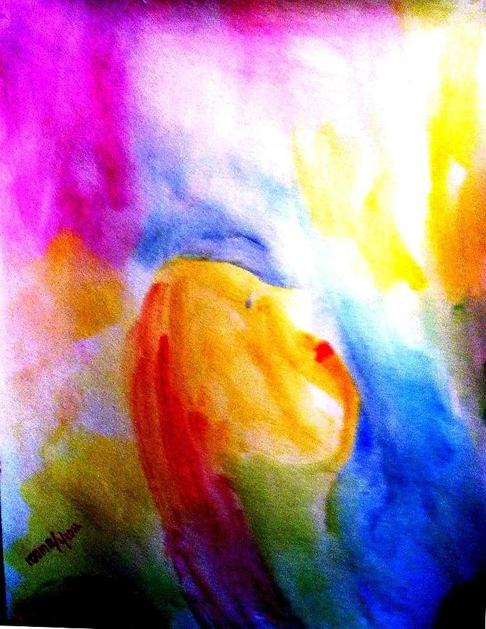 Dream 1 Painting by Rooma Mehra