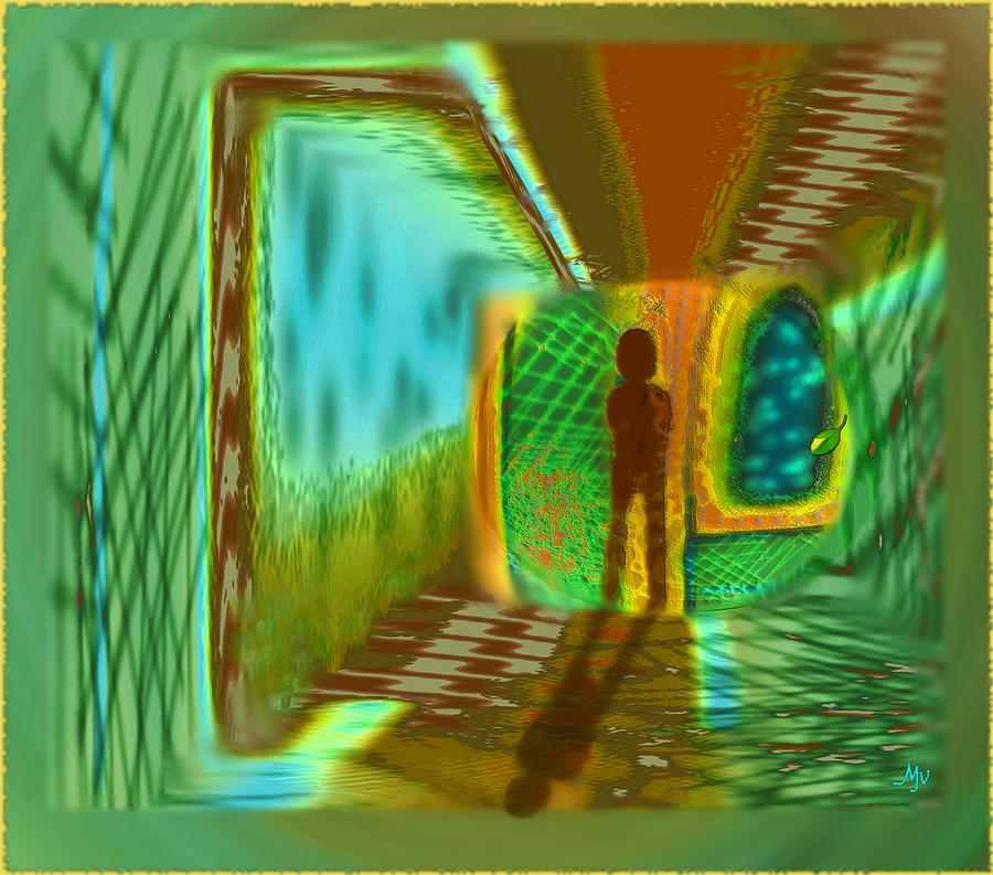 Dream Digital Art - Dream Of Returning by Mathilde Vhargon